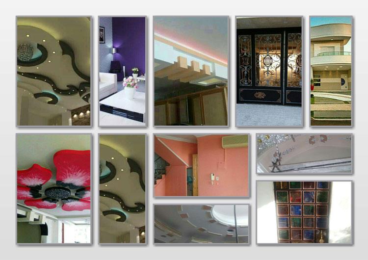 نمونه کارهای نقاشی ساختمان گلستان